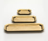 Futagami Stationery Tray Set With Leather Inserts 2