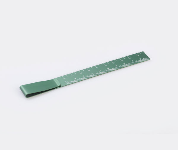 Hightide Clip Ruler Green
