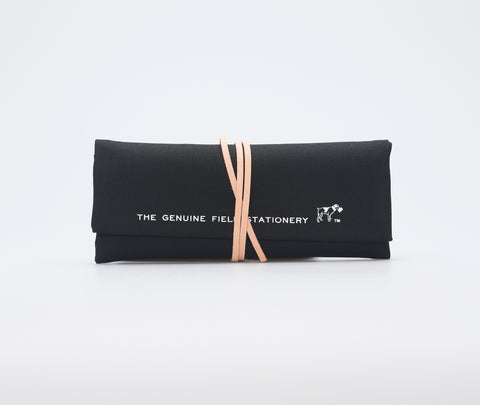 Hightide Field Roll Pencil Case Black
