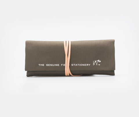 Hightide Field Roll Pencil Case Khaki