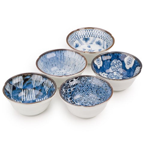 Zen Minded Japanese Ceramic Bowl Gift Set Osaka