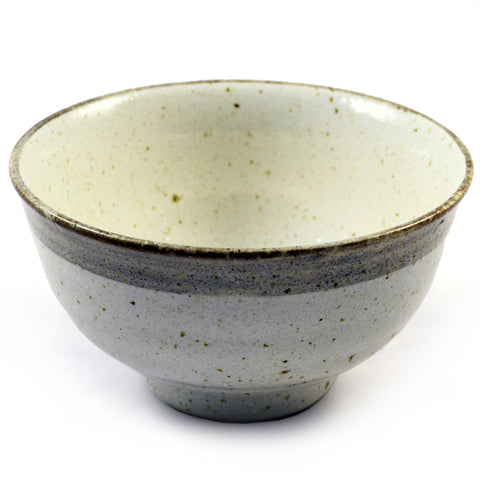 Zen Minded Beige Glazed Japanese Ceramic Bowl