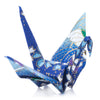 Zen Minded Blue Japanese Origami Cranes Pack Of 10