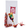 Zen Minded Red Japanese Origami Cranes Pack Of 10 2