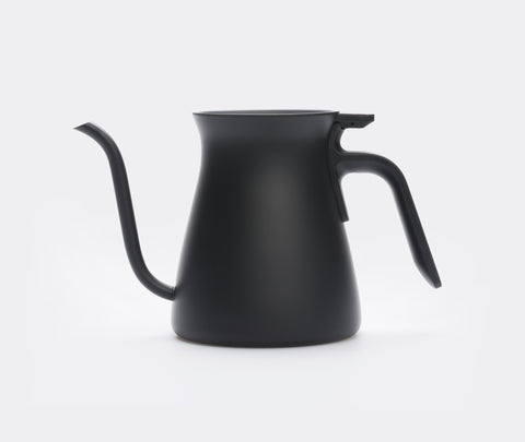 Kinto Pour Over Coffee Kettle 900ml Black