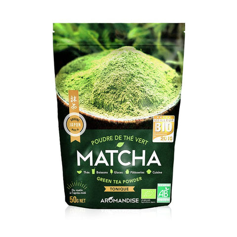 Aromandise Organic Matcha Powdered Green Tea
