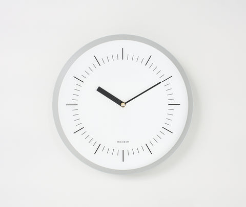 Moheim Horn Clock Grey