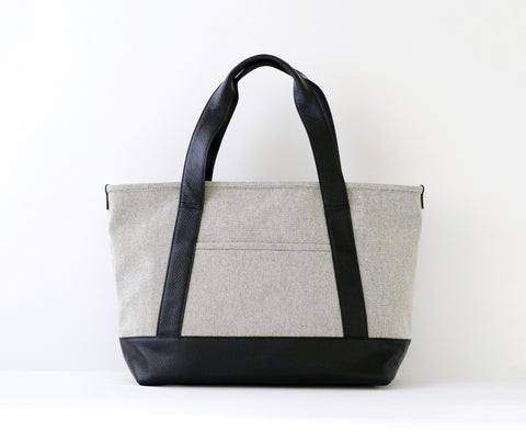 Moheim Tote Bag Medium Grey