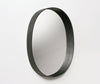 Moheim Oval Mirror Black