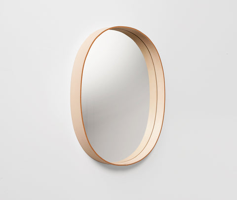 Moheim Oval Mirror Natural