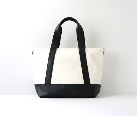 Moheim Tote Bag Small White