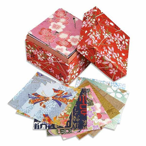 Zen Minded Box Of Washi Origami Paper