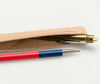 Siwa Pen Case Slim Brown 3
