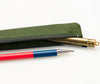 Siwa Pen Case Slim Dark Green 3