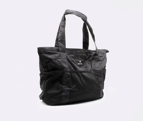 Snow Peak Packable Tote Bag Type 02 Black