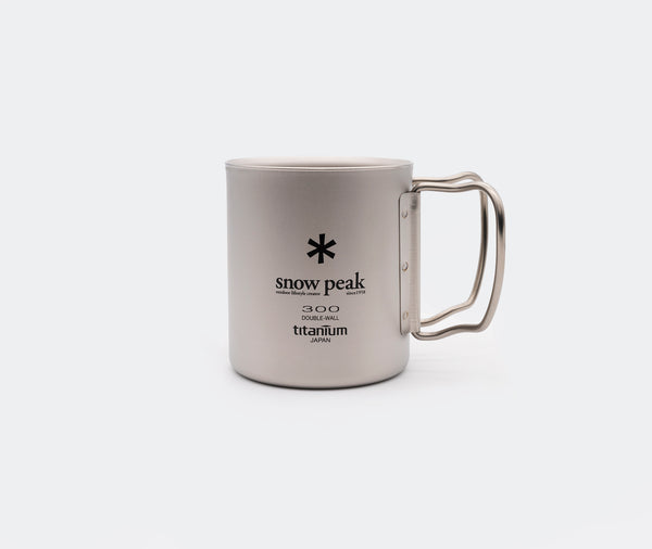 Snow Peak Titanium 300 Mug Double
