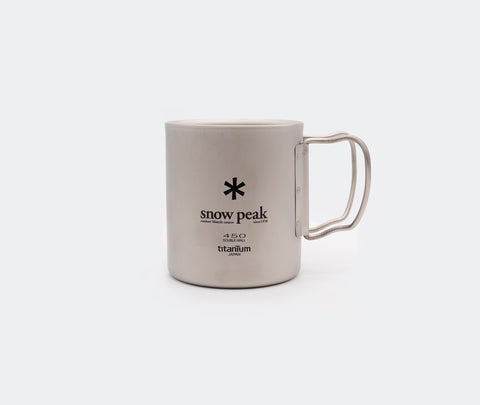 Snow Peak Titanium 450 Mug Double