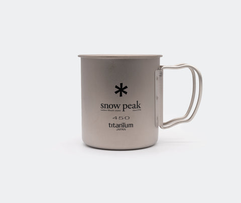 Snow Peak Titanium 450 Mug Single