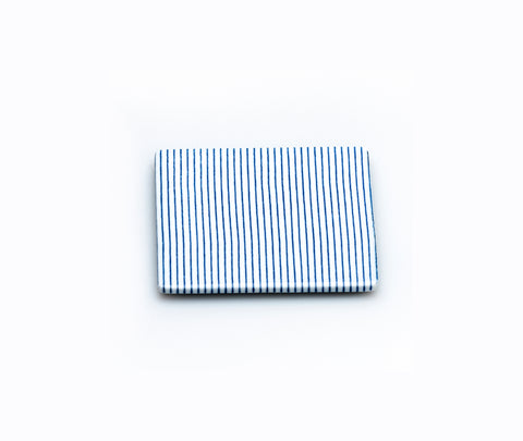 Time & Style Ju Bako Stacking Box Lid Blue Stripe