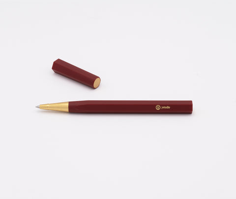 Ystudio Resin Rollerball Pen Red