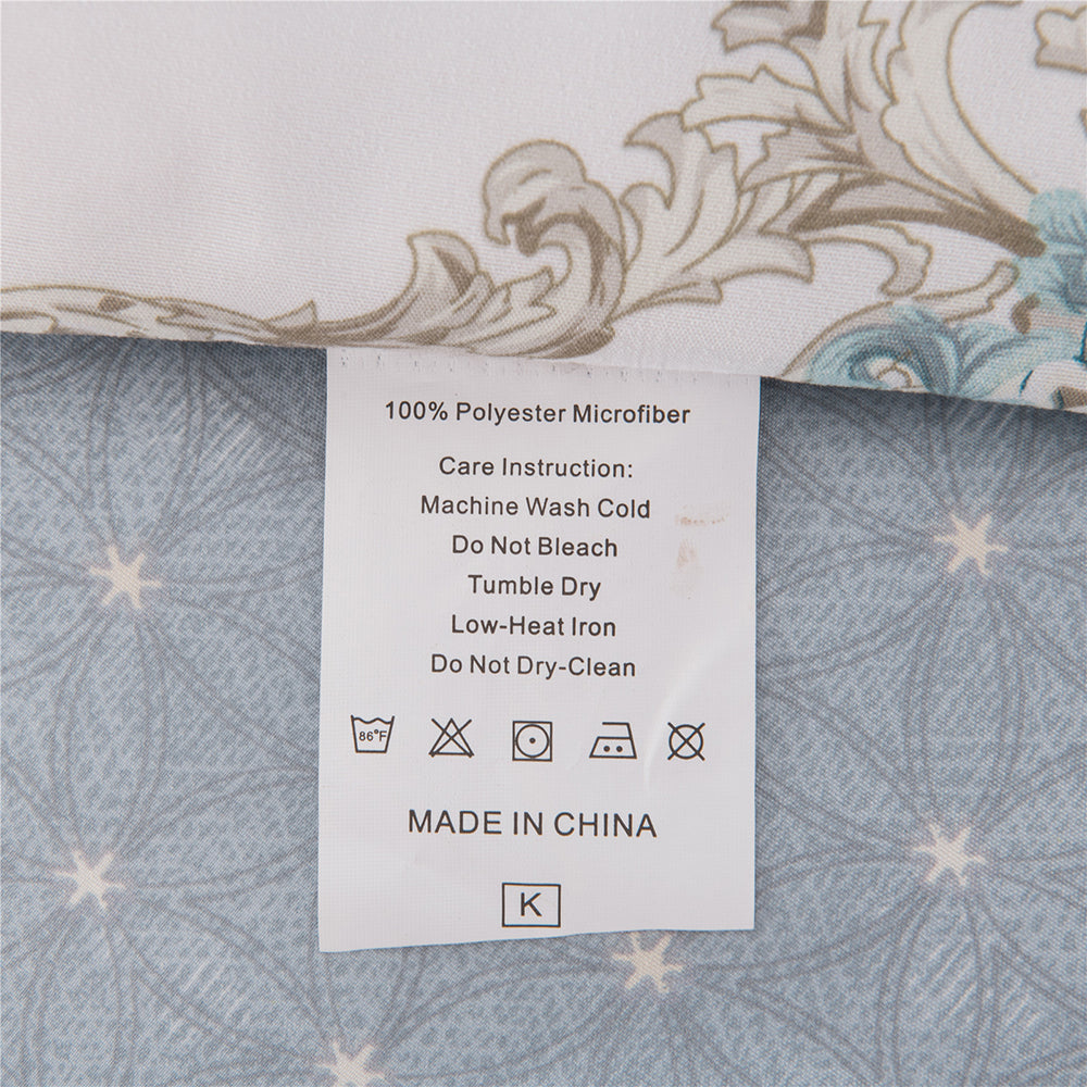 Shatex 3 Piece Luxury Comforter Sets– Ultra Soft 100% Microfiber Polyester