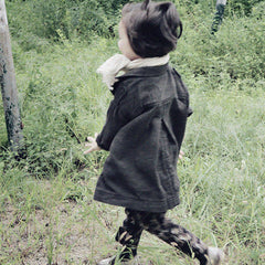 Bien a Bien Kids' Oversized Coat | rabbit in the moon