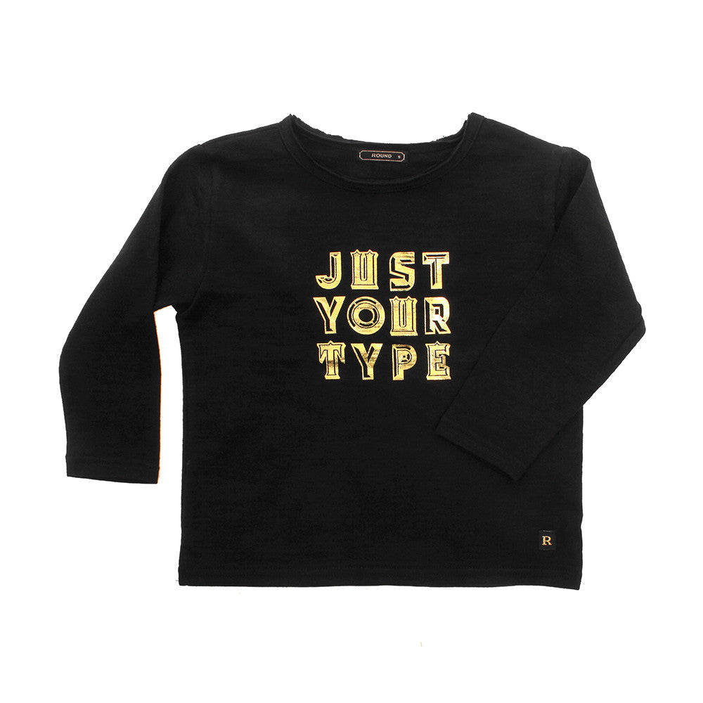 Round Boys' Just Your Type T-shirt | rabbit in the moon