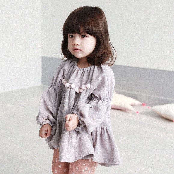 Avec A Girls' Soft Early Blouse