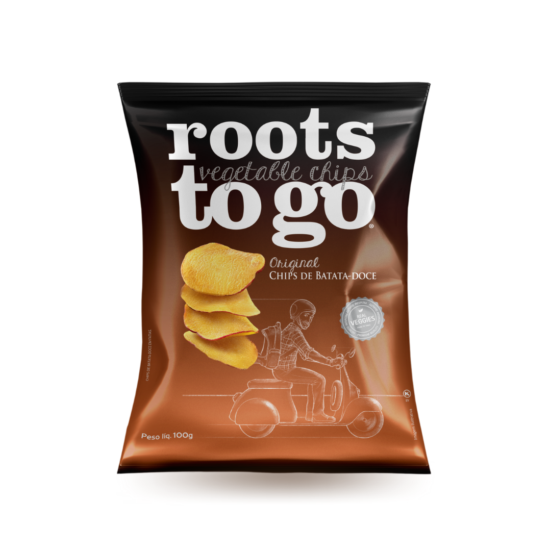 Chips de Batata-Doce Roots To Go 100g
