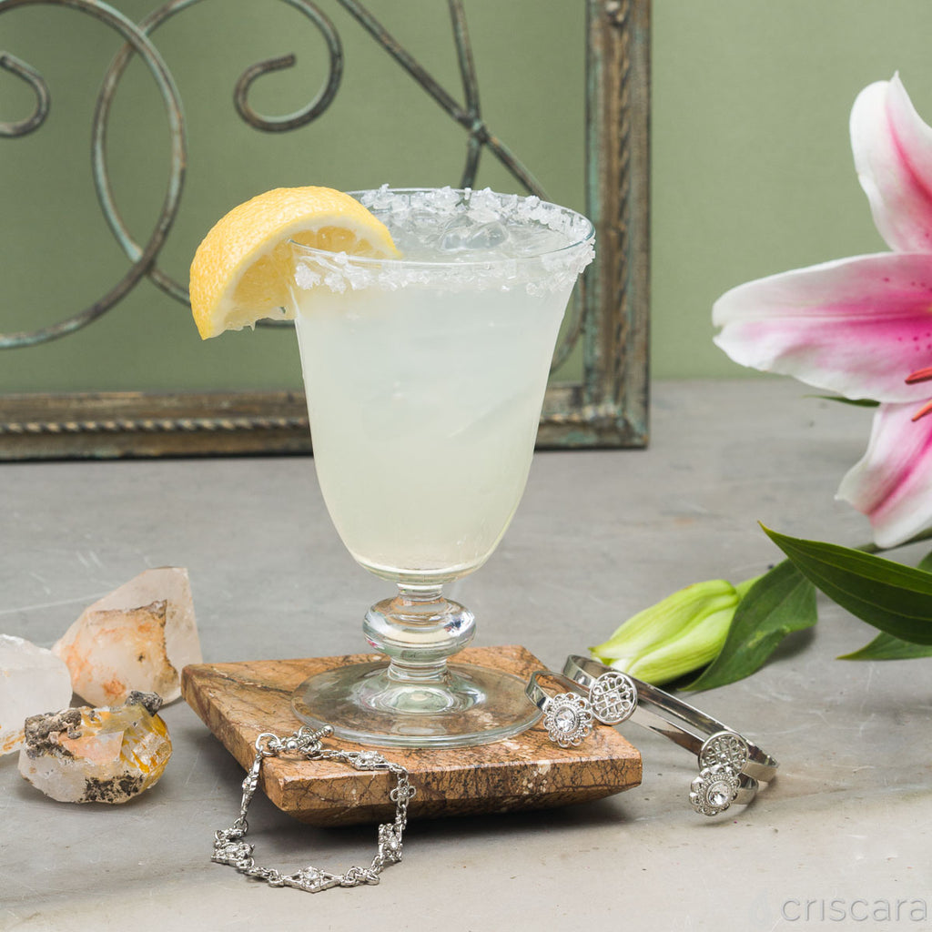 Lemon Drop Recipe and Bracelet Set by Criscara