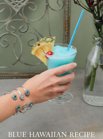 The Blue Hawaiian Cocktail Recipe | Criscara