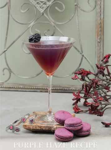 The Purple Haze Cocktail Recipe | Criscara