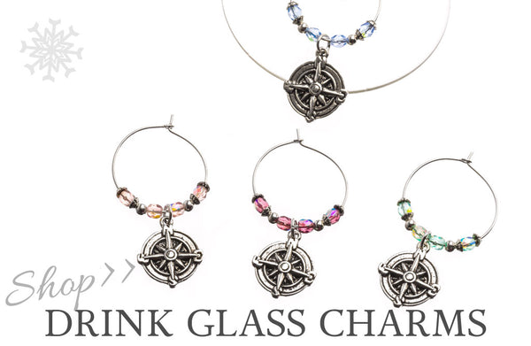 Shop Drink Glass Charms | Criscara