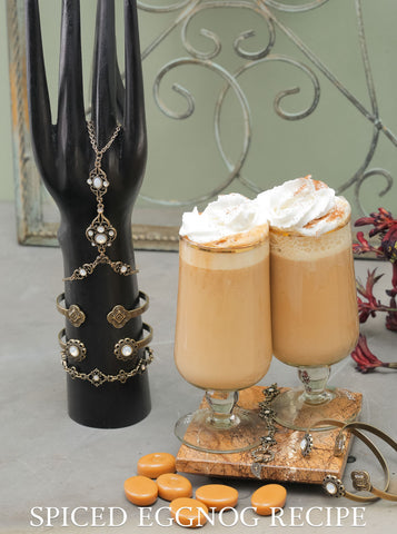 Spiked Eggnog Drink Recipe