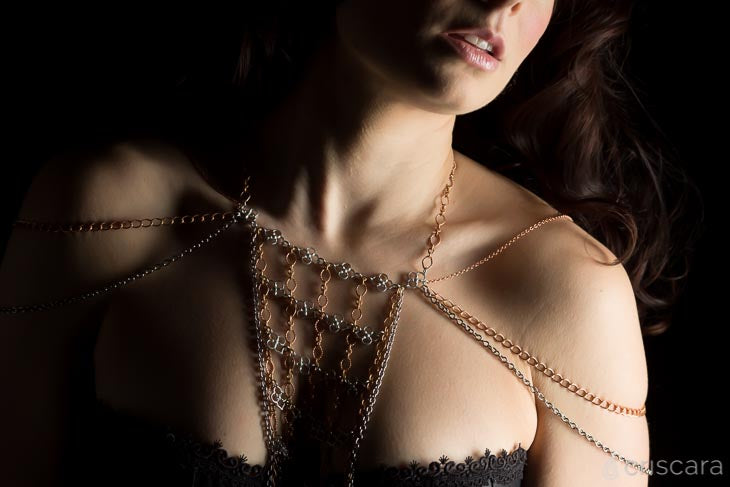 Boudoir Jewelry from Criscara's Nearly Naked Collection