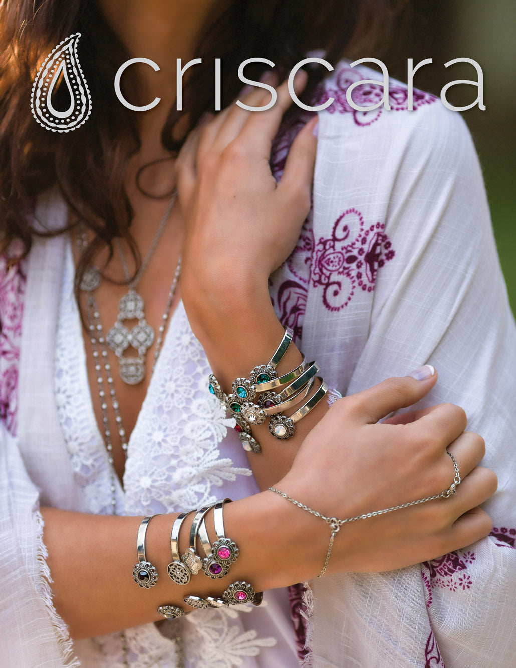 Medalia Muse f/w 2015 collection lookbook | modern boho jewelry | criscara
