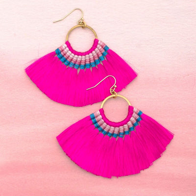 GOLD COAST Tassel Earrings