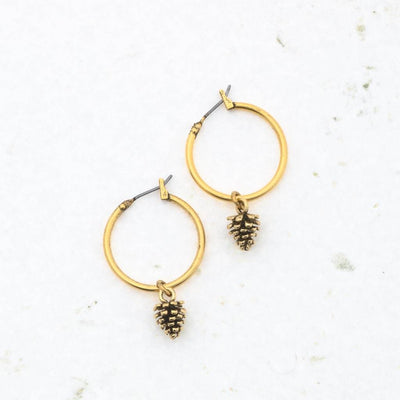 "DESI Pinecone 1"" Hoops"