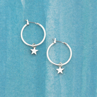 "SHOOTING STAR 1"" Hoops"
