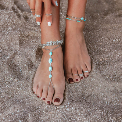 WELL TRAVELED Adjustable Toe Ring