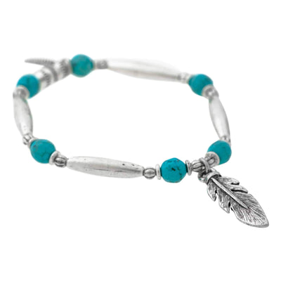 STAY WILD Feather Bracelet