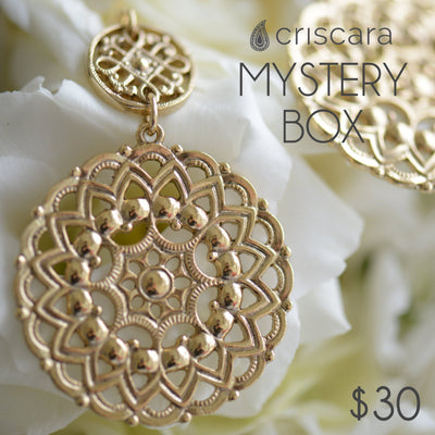 SAMPLE: Mystery Box of Jewelry $30