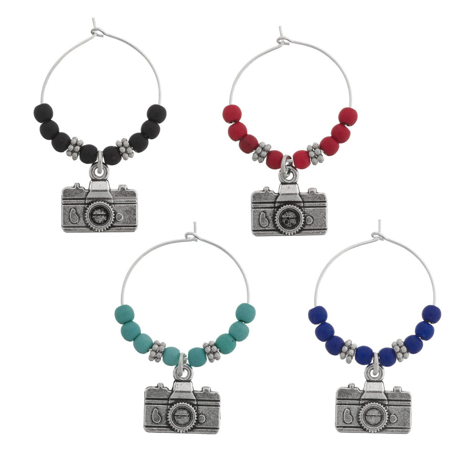 CAMERA Wine Charms