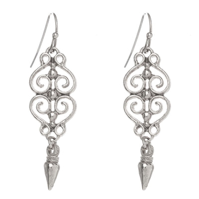 CASABLANCA Earrings - Silver | Modern boho jewelry | Criscara