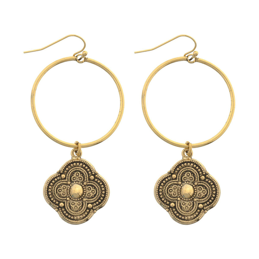 CARAVAN Hoop Earrings