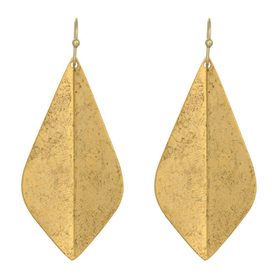 Gypsy Earrings in 14k gold finish | Modern boho jewelry | Criscara