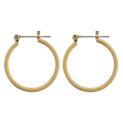 "SPELL 1"" Hoop Earrings"