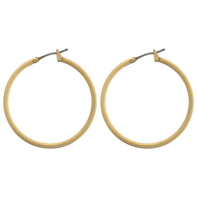 "SPELL 1.25"" Hoop Earrings"