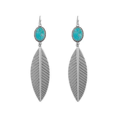 BACH Statement Leaf Earrings