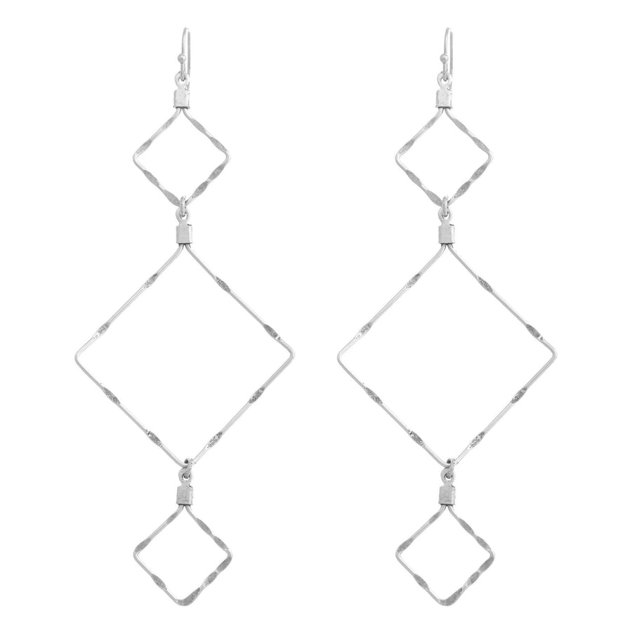 DEVILLE Long Diamond Earrings